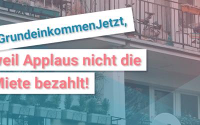 Alle an den Bundestag: GrundeinkommenJetzt!