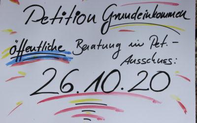 Anhörung im Bundestag am 26.10.20