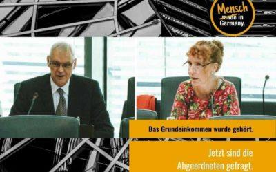 Grundeinkommen im Bundestag