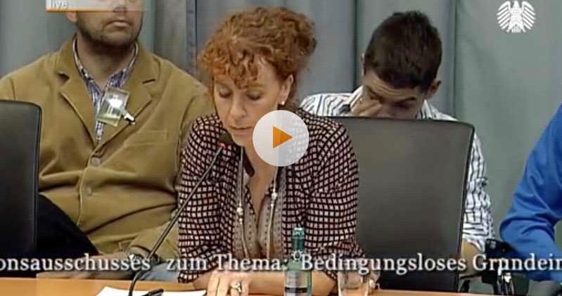 """Petition an den Bundestag: """"Einführung eines Bedingungslosen Grundeinkommens"""""""